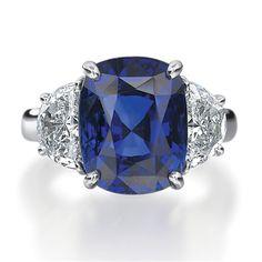 Armadani Jewels of Beaver Creek -  Bridal Sapphire and Diamond Ring, $13,840.00 (http://www.armadanijewels.com/bridal-sapphire-and-diamond-ring/)