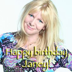 Happy birthday to Look Great Naturally author and Hay House Radio presenter @Janey Lee Grace!
