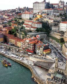 Porto by: decoomagico Portugal Destinations, Portugal Places To Visit, Portugal Travel, Europe Destinations, Places To See, Travel Around The World, Around The Worlds, Porto City, Douro