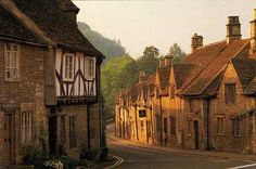 Am going here one day.the Cotswold villages of England, Castle Combe is one of the prettiest. Oh The Places You'll Go, Places To Visit, Wonderful Places, Beautiful Places, Cities, Cotswold Villages, Castle Combe, England And Scotland, English Village