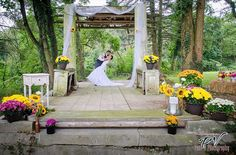 Historic Shady Lane - Central Pennsylvania |  What a gorgeous rustic, outdoor venue.  Love, love, love.
