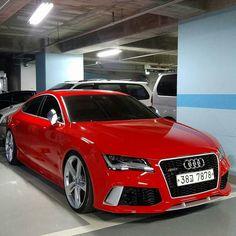 Repost via Instagram:  Misano Red.  Owner: @js300  Car: 2014 Audi RS7 HP: 4.0L twin-turbo V8 560hp 0-62mph/100kph: 3.58 seconds  Follow @audi__germany @audipixs @audicarsworld @audi_regram  #audi #rs7 #audirs7 #a7 #s7 #sportback #supercar #sportscar #quattro #caroftheday #photooftheday #unique #love #yolo #speed #qauto #luxury #audir8 #wantanr8 #rs #teamaudi #beautiful #amazingcars247 #cars #photography #follow #instacool #instamood #supercar #sportscar by audiengine