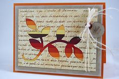 Gorgeous and unique card by Kay for PTI blog hop Oct. '11