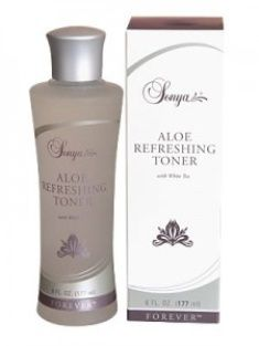 Sonya® Aloe Refreshing Toner with white tea extract provides vital moisture to help keep your skin properly hydrated. This alcohol-free toner is as refreshing as it is hydrating. Applied after cleansing with Sonya® Aloe Purifying Cleanser, your skin will instantly absorb the nourishing properties of stabilized aloe vera gel, white tea extract, and cucumber.