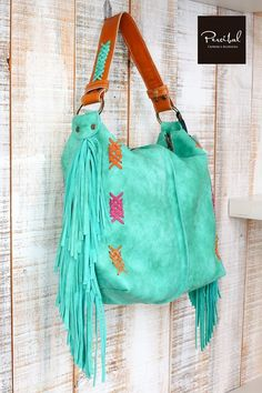 85bea185a3e73 Fringes bag Leather hobo bag Ethnic purse Fringe leather bag Flecos De  Cuero, Bolso Con