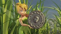 Buttons...buttons for Tinkerbell!