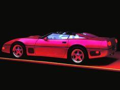 Uzicopter: The Signalnoise Tumblr : Photo New Retro Wave, Retro Waves, Lego Wallpaper, Intelligent Agent, 80s Neon, Car Camera, Twin Turbo, Retro Futurism, Chevrolet Corvette