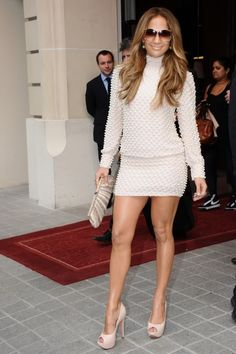 Love the dress on J Lo