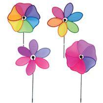 "Bulk Flower-Shaped Pinwheels, 10"" at DollarTree.com"