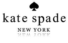 i love kate spade's logo because of the clean fashion forward fonts and a cool icon that makes sense. i also love how the colors and other branding elements always change on kate spade's site but the logo is consistent and works with so many fun colors!