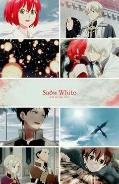 snow white with the red hair - Akagami no Shirayuki-hime
