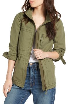 Madewell Fleet Military Jacket on Mercari Green Utility Jacket, Green Jacket, Coats For Women, Clothes For Women, Fall Clothes, Fashion Clothes, Fashion Jackson, Jackets Online, Outfits
