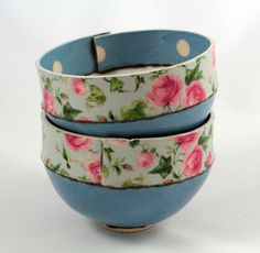 Blue ivy rose bowl | Made By Hand Online