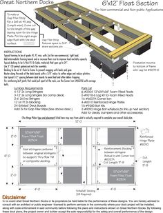Build your own boat dock plans illustration Build your own boat dock plans Floating Boat Dock Design . Floating Boat Docks, Floating House, Floating Pontoon, Make A Boat, Build Your Own Boat, Floating Picnic Table, Building A Dock, Lake Dock, Deck Construction