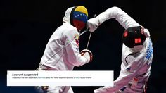 Twitter user's account taken out after posting Olympic videosVenezuelas Francisco Limardo has been competing in the fencing but one of his countrys supporters says hes had his Twitter account shut down.  Image: FABRICE COFFRINI/AFP/Getty Images  By Tim Chester2016-08-09 18:58:10 UTC  The IOC rules are militantly firm and relatively clear: No-one that hasnt paid for it can go near video footage or GIFs of anything that happens during the Olympics.  Their 6-page diktat opens with a typically…