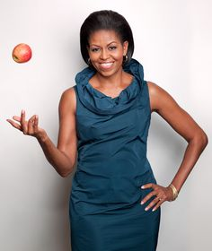 Portraits of Michelle Obama taken at the White House for Ladies Home Journal Magazine
