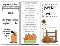 Pumpkin Math in the Classroom