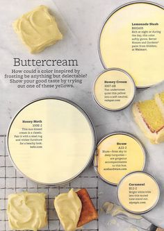 Buttercream Paint Colors