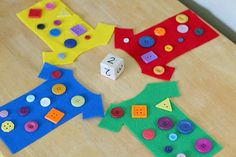 Math Game for Kids Based on Pete the Cat and His Four Groovy Buttons