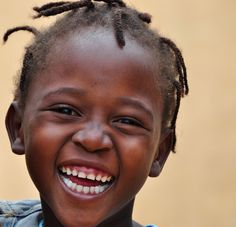Children smile from #Mozambique. Pure, honest and sincere :)