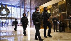 A 19-year-old college student has been arrested at Trump Tower after police discovered he was carrying weapons, a firework, and restraining tools. Alexander Wang, who studies finance at Baruch Coll…