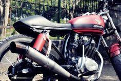 Honda CB-100 Custom_Dhani Dorkzilla CB Terminal