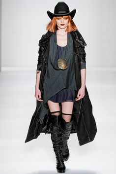 Zombie-apocalyptic-western-gothic-heroine-saves-the-day-chic @Nicholas Seymore K FW12  Holy shit I think I found my summer outfit