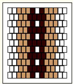 Inkle loom pattern