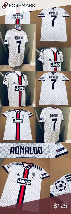 f030496f1 Ronaldo  7 Juventus Concept GG UEFA Soccer Jersey 2019 Juventus FC  (Football Club)