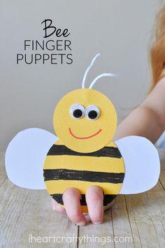 Fingerpuppen-Biene