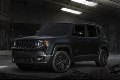 2016 #Jeep Renegade Goes to the Dark Side with 'Batman v Superman' Special Edition!