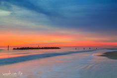 Fishermen Fishermen wading at sunrise at Amelia Island State Park Amelia Island, Florida, USA http://www.saeah.com/United-States/i-DVxvHGC