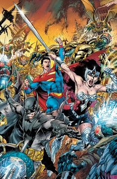 ArtVerso — Ivan Reis - Earth Two
