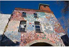 Isaiah Zagar – mistr mozaika - stavba - Životní Styl