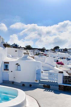 Little Houses in Oia, Santorini island, Greece. - Selected by www.oiamansion in Santorini.