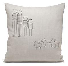 Custom Throw Pillows - 10 Unique Pillow ideas! Cute gift idea!