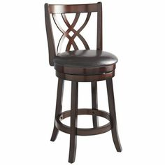 Holbrook Swivel Counterstool.  Would need to test for comfort, but like the look and the swivel.