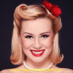 40's and 50's hairstyles - Google Search