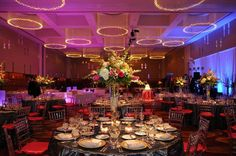 Reception at the Four Seasons | Photography: Robert George Photography | Wedding Planner: Cosmopolitan Events