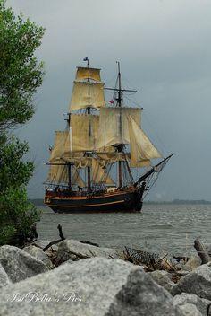 "Looks like something off ""Master and Commander"" or ""Horatio Hornblower"" :) @Abigail Stricklen"