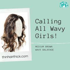Crown Hair Extensions, Human Hair Extensions, Thin Hair Styles For Women, Brown Highlights, Hair Breakage, Long Wavy Hair, Fine Hair, Human Hair Wigs, Hair Pieces