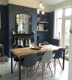 DARK & DELICIOUS INTERIORS - dining room