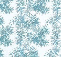 envelope liner - more abstract? (not color) Lula fabrics - aqua ferns