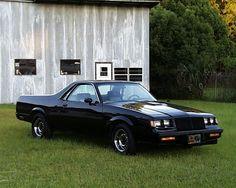 86 GN EL Camino El Camino Car, Buick Grand National, American Motors, Chevy Pickups, Chevrolet Corvette, American Muscle Cars, Amazing Cars, National Front, Car Show