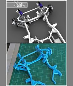 Something we liked from Instagram! I can only print 6x6x6 sections on my 3D printer so I am making all the chassis sections modular on this 1:7 scale Datsun 620 chassis model and joining them together. Piece by piece it is coming together. #mikebuysa3dprinter #mikeprintsadatsun #mikebuildsadatsun #datsun #datsun620 #minitruck #custom #chassis #customchassis #suspension #bellcrank #cantilever #solidworks #design #cad #3dprinter #3dprinting #lulzbot #lulzbotmini #frame #scalemodel…