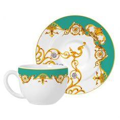 Conjunto de xícaras para chá com pires scarf - Westwing.com.br - Tudo para uma casa com estilo