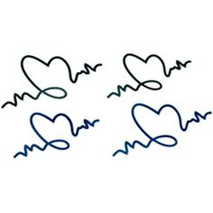 10 Pcs Fashion Waterproof Electrocardiogram Tattoo Stickers Arm Totem *** Click image to review more details. (This is an affiliate link) #TemporaryTattoos