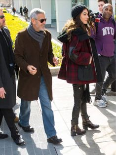 Amal and George Clooney at March for Our Lives in Washington DC. 24.03.2018   Amal Clooney Style
