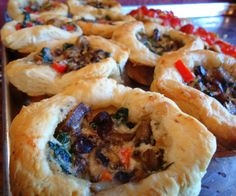 Ratatouille in Puff Pastry