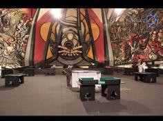 Renta de barras iluminadas y casino. Evento en polyforum Siqueiros y WTC México.